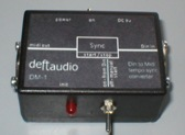DM-1 DinSync to Midi clock converter
